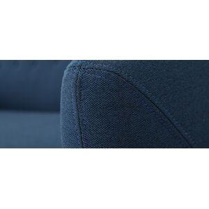 Miliboo Canapé design 3 places déhoussable bleu YNOK