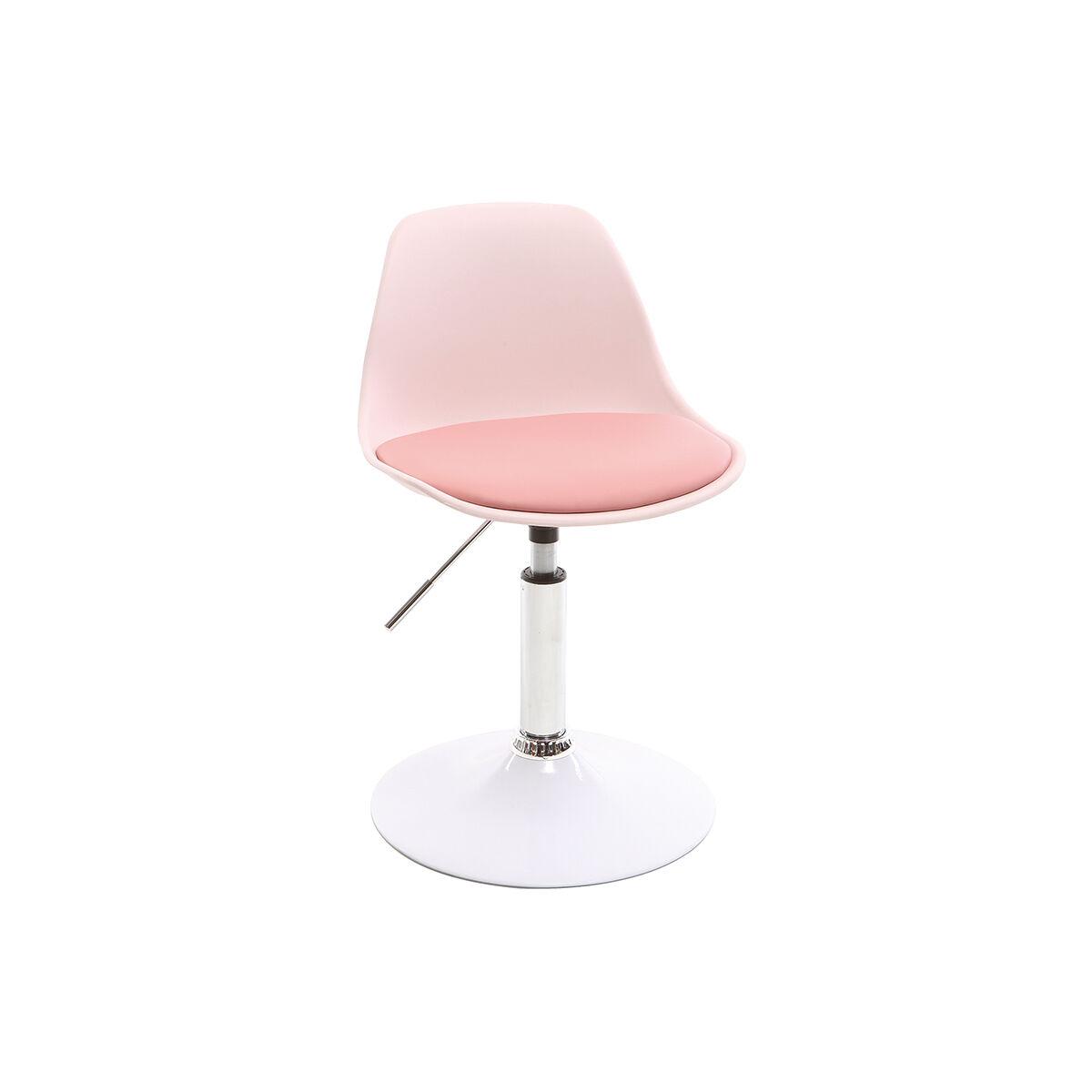 Miliboo Chaise de bureau design enfant rose STEEVY