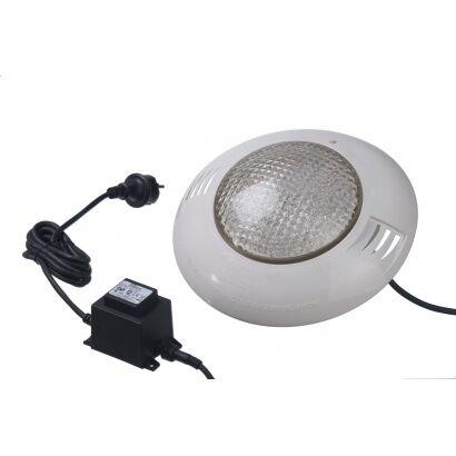 Projecteur LED 350 Plus blanc piscine bois liner