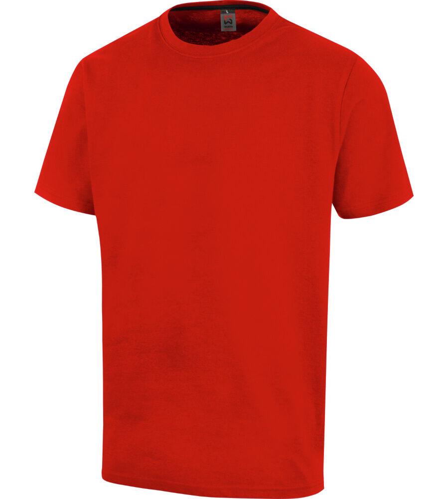 Würth Modyf Tee-shirt de travail Job+ Würth MODYF rouge - Würth MODYF - Taille M