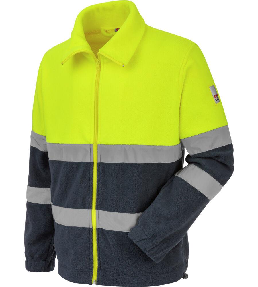 Würth Modyf Polaire de travail Würth MODYF haute-visibilité jaune/marine - Würth MODYF - Taille 3XL