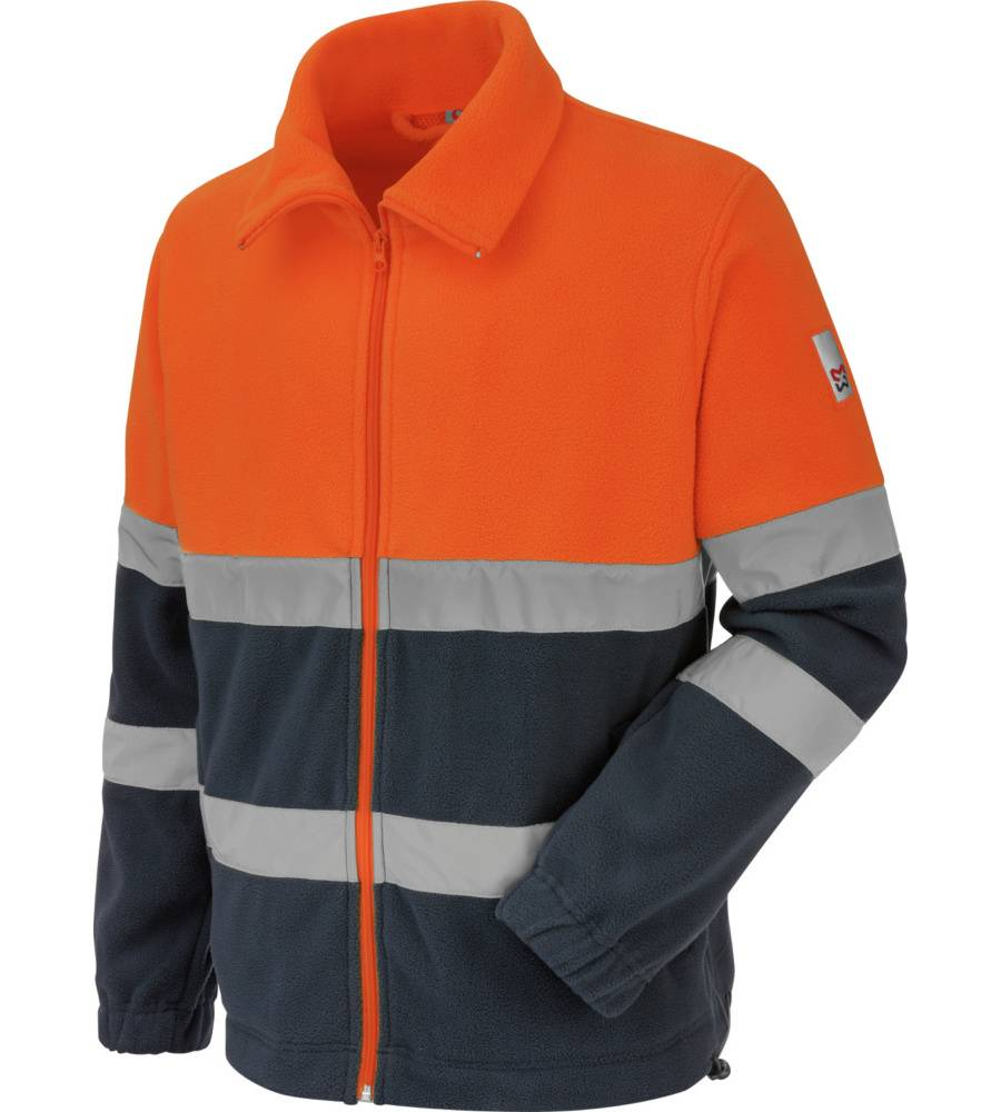 Würth Modyf Polaire de travail Würth MODYF haute-visibilité orange/marine - Würth MODYF - Taille XL