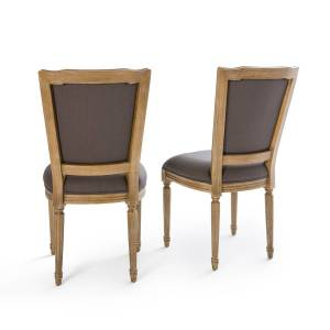 LA REDOUTE INTERIEURS Lot de 2 chaises style Louis XVI, Trianon