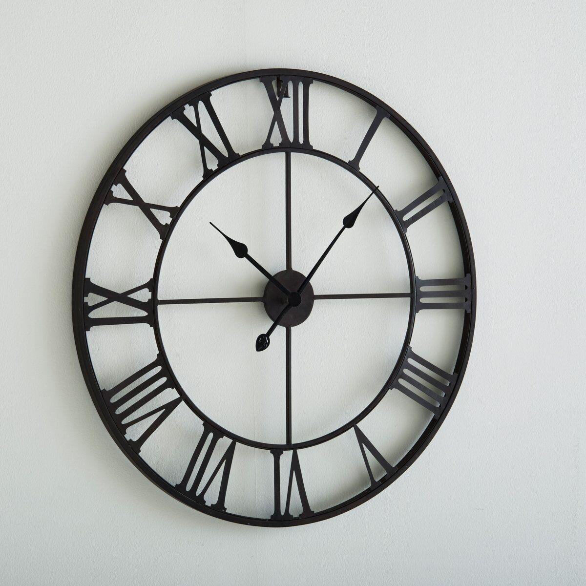 LA REDOUTE INTERIEURS Horloge métal Zivos