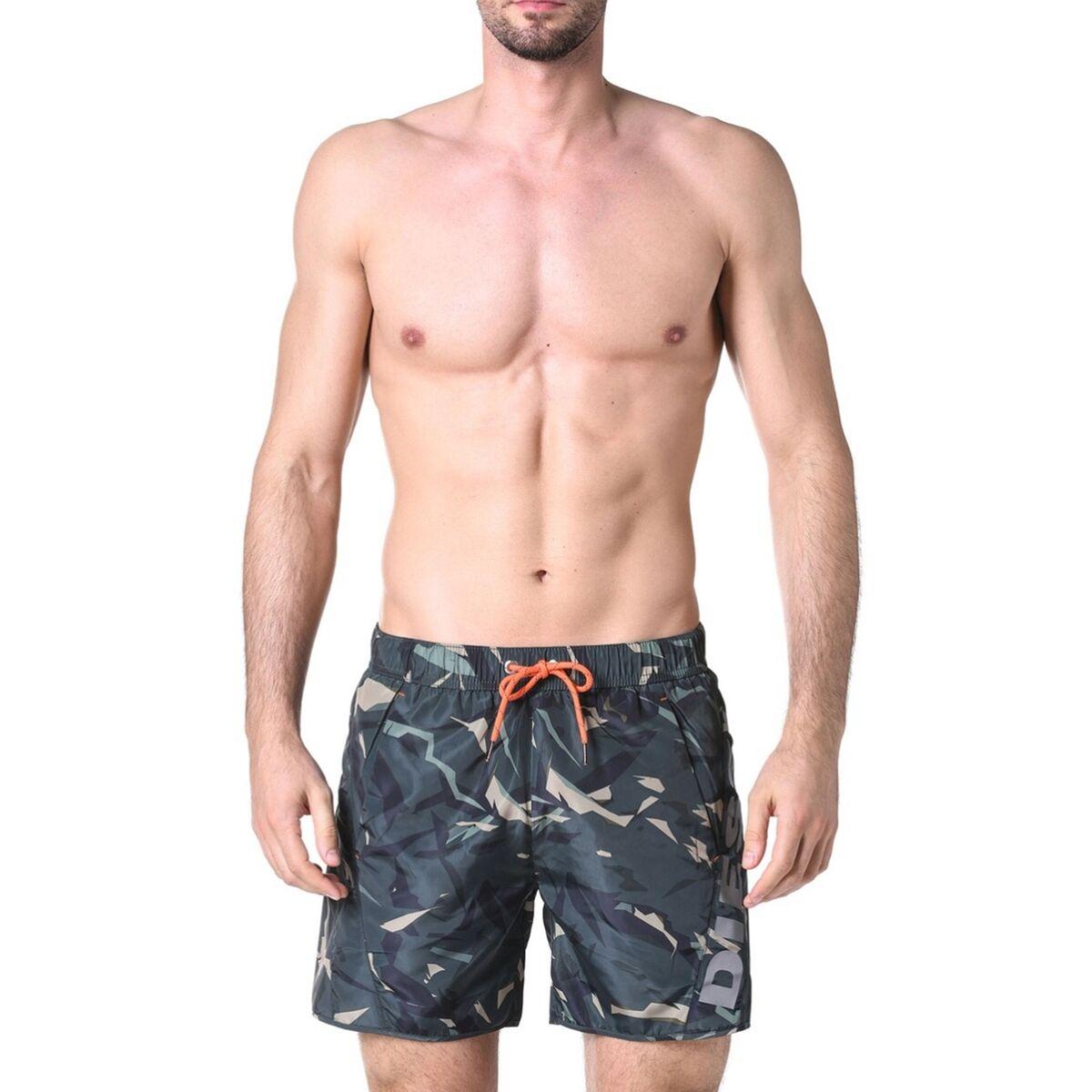 DIESEL Short de bain imprimé camouflage