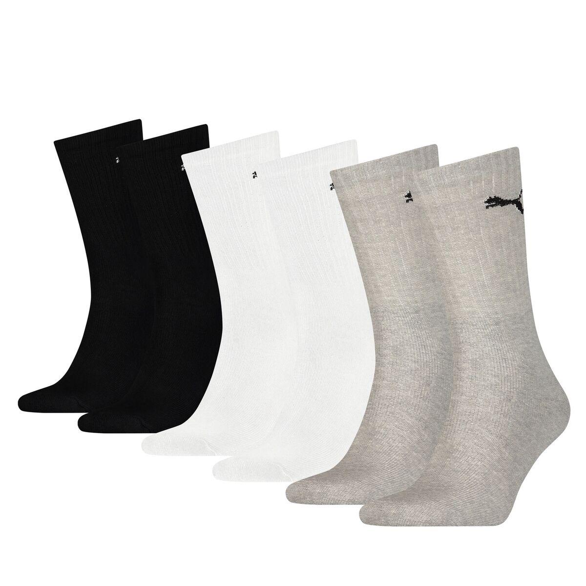 PUMA Lot de 6 paires de chaussettes hautes