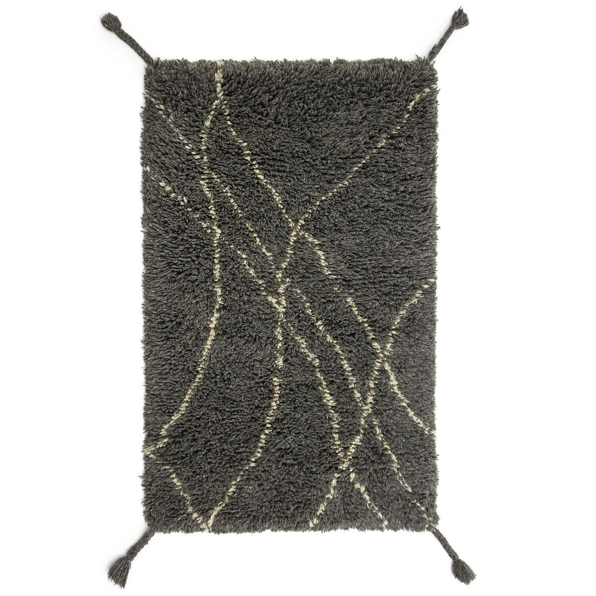 AM.PM Tapis style berbère en laine gris/écru, Louka