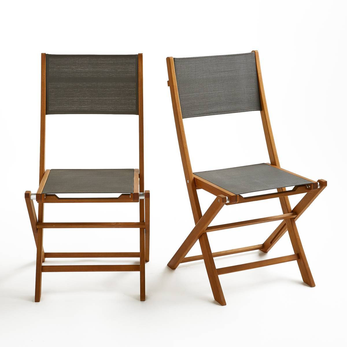 LA REDOUTE INTERIEURS Chaise de jardin pliante (lot de 2), Exodor