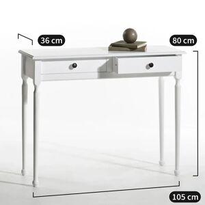LA REDOUTE INTERIEURS Console 2 tiroirs, Authentic Style