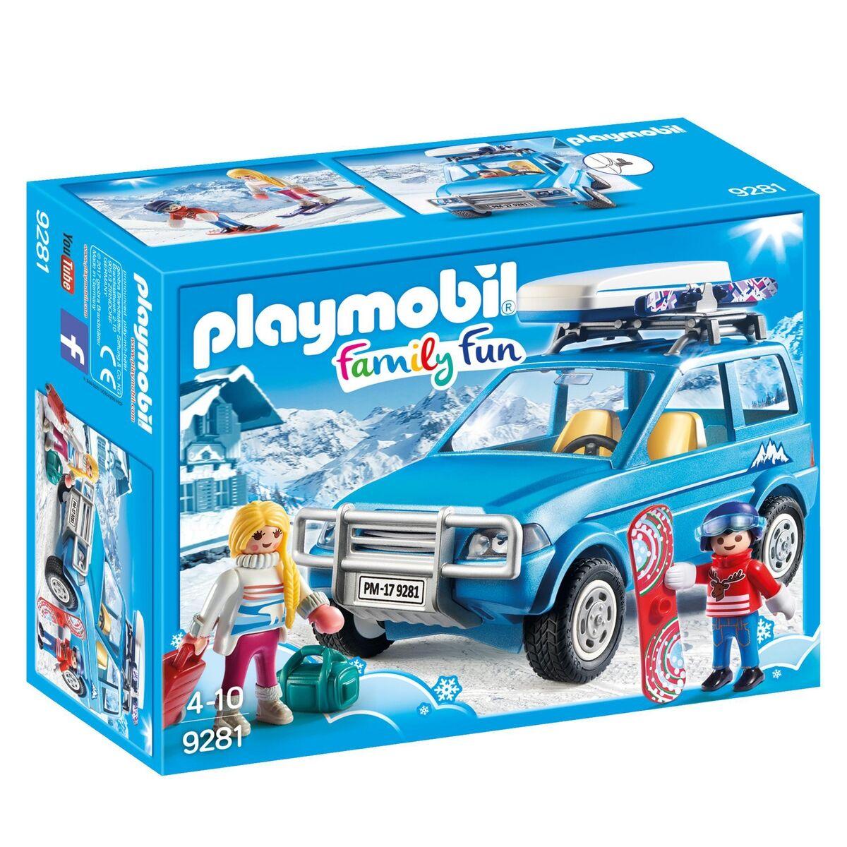PLAYMOBIL 4x4 avec coffre de toit 9281