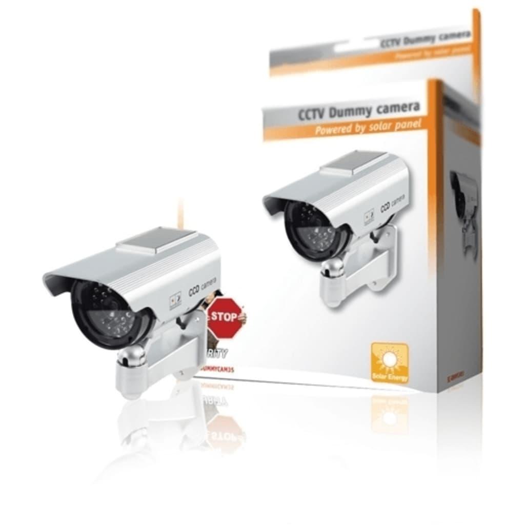 TRIBALSENSATION Premium Faux/Modle Camra De Scurit CCTV Solaire Avec Voyant Cl