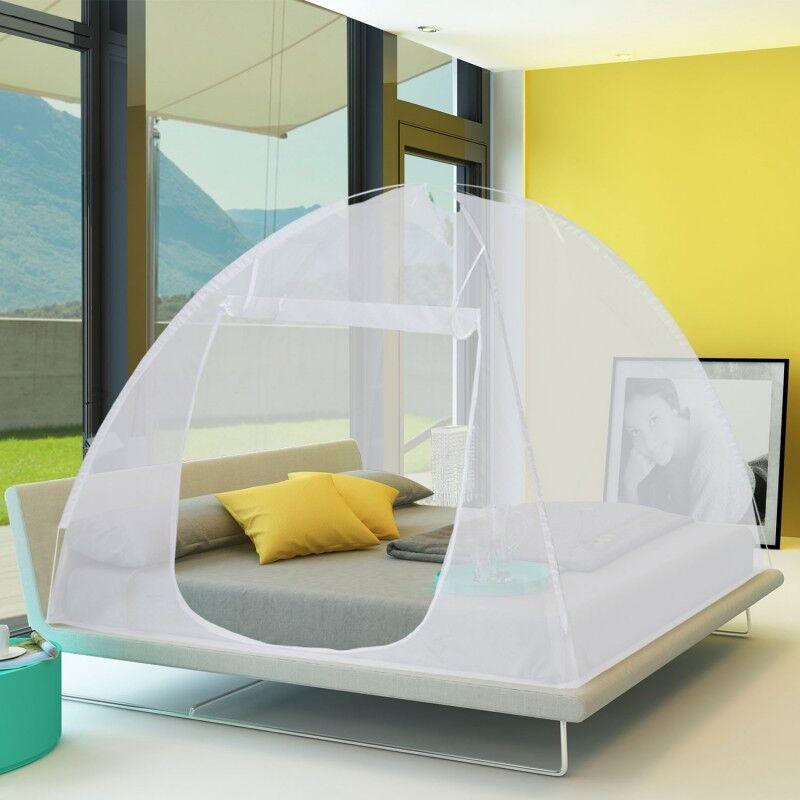 """ProBache """"Moustiquaire dôme pop-up 195x150 cm mobile pour lit"""""""