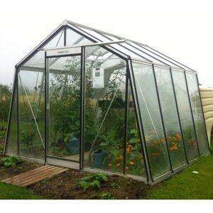 ACD Serre de jardin S104H Prestige Grow 9,12m² en aluminium laqué RAL et verre trempé  ACD