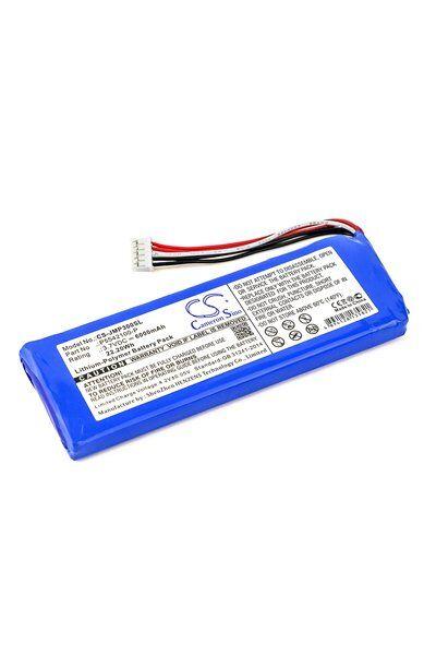 BatteryUpgrade JBL Pulse 3 batterie (6000 mAh, Noir)
