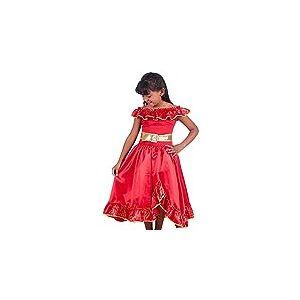 Fantasia Infantil Festa Princesa Elena Luxo+brinde Tiara (8)