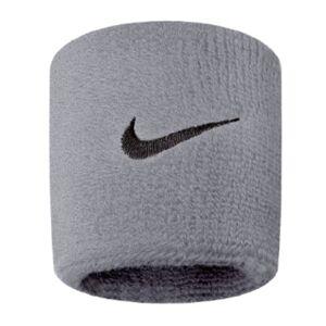 Nike Munhequeira Pequena Swoosh Wristband 2 Unid, Único, Cinza