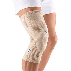BAUERFEIND Joelheira GenuTrain A3  rtese para o joelho com compresso mdica em malha respirvel, para Alvio das Dores e Inchaos, causados por osteoartrite, leses de LCA (Ligamento Cruzado Anterior) e ruptura do ligamento (Direito, Size 1)