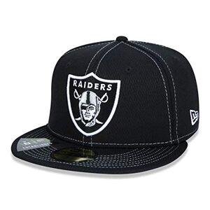 New Era Boné Oakland Raiders 5950 Sideline Road Nfl 100