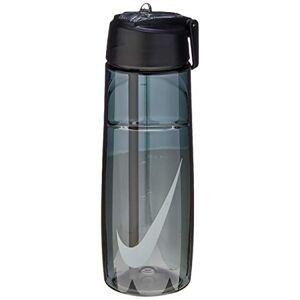 Nike Squeeze T1 Flow Water Bottle, 709Ml, Preto/Cinza