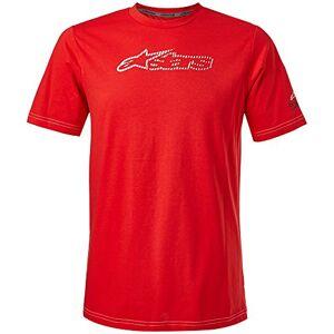 Alpinestars Camiseta Para Ciclismo Vermelho Ggg