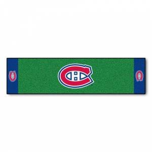 """Sports Licensing Solutions, LLC NHL Montreal Canadiens Putting Green Mat 18""""x72"""