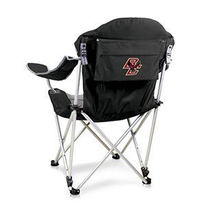 Picnic Time Reclining Camp Chair -Black (Boston College ) Digital Print