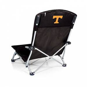 PICNIC TIME Tranquility Chair Black (University of Tennessee Volunteers) Digital Print