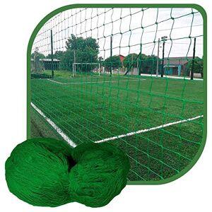 GISMAR REDES Rede de Proteção Esportiva 7x10m Fio 4 Malha 12cm Verde