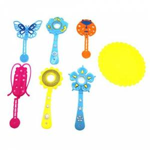 LIOOBO Conjunto de varinhas de bolhas com formato de animal para crianas e meninos e meninas da