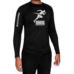 Uppercut Camisa Corrida Top Térmica Proteção Solar UV-50 ML, GG, Preta