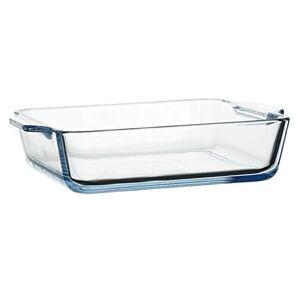 DOITOOL Cozimento Prato de Vidro Com Tampa De Vidro Panelas para Cozinhar Bolo Cozinha Jantar Banquete de Lasanha E Uso Dirio Caarola Prato de Cozinha Forno de Cozer (800ML)