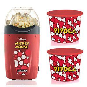 Mallory Pipoqueira Elétrica Disney Mickey  +2 Baldes Pipoca