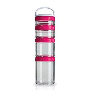 Blender Bottle GoStak 4 Packs Rosa