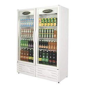 Conservex Expositor refrigerado vertical 2 portas erv-850  Preto