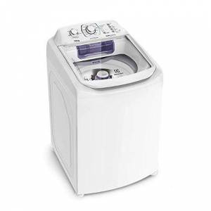 Electrolux Lavadora de Roupas  LAC12 12kg Compacta e Dispenser Autolimpante 127V Branca / Grafite 127 V