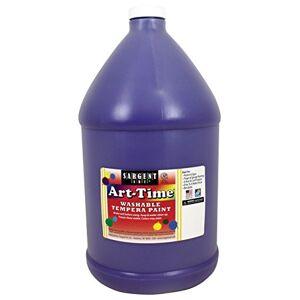 Art Time Washable Tempera Paint Violet Gallon