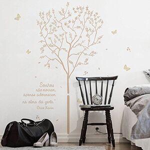 Grudado Adesivo de parede Sossego Café com Leite U N