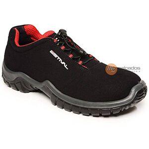 Estival Sapato de Segurança Preto e Vermelho Nº40  EN1002.1S2