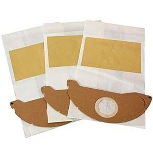 Karcher Kit de Sacos Descartáveis para Aspiradores  com 3 Unidades--93022390