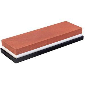 Brinox Pedra de Afiar Facas Dupla Face 400/1000 Suprema  Pedra para Amolar Profissional