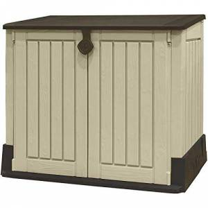 Keter Armário Store It Out Midi Shed  Marrom