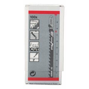 Bosch Lâmticotico T144D Speedforwood 100 Peças,  2608637880-000, Preto