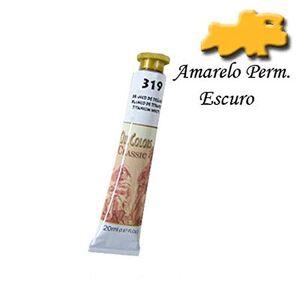 Acrilex Tinta a leo  20 ml Avulso Amarelo Permanente Escuro 367