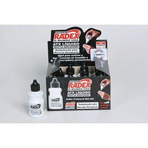 Radex ATX-40PT, Tinta Marcador, Permanente, Reabastecedor, Multicolor, pacote de 12