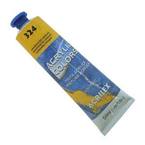 Acrilex Tinta Acrlica 20 ml Acrylic Colors 324  Amarelo de Cdmio