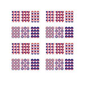 TENDYCOCO Adesivo patritico de 30 folhas, conjunto de adesivos 2020 American Election para laptop de porta e janela de carro, Picture 1, 18 * 13 * 0.2cm