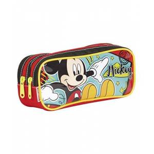 Mickey Estojo 2 Compartimentos  18M