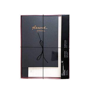 Teca Caixa Planejamento Semanal, , HJ0015, Preto