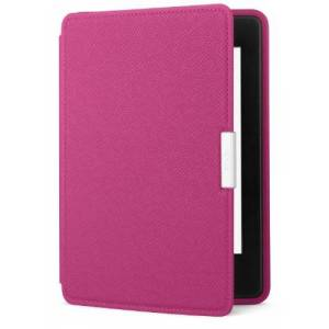 Amazon Capa de couro para Kindle Paperwhite, cor rosa (no compatvel com o novo Kindle Paperwhite)