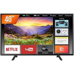"""Panasonic TC-40FS600B Smart TV LED 40"""" Full HD, Conversor Digital, 2 HDMI, 1 USB, Bluetooth, Wi-Fi, Preto (Black)"""